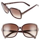 Bobbi Brown Women's 'The Alice' 57Mm Sunglasses - Violet