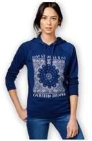 Levi's Womens LS Bandana Hoodie Sweatshirt twu S