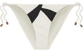 Vix Paula Hermanny Wave Printed Low-rise Bikini Briefs