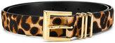 Lauren Ralph Lauren leopard print belt