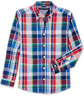 Tommy Hilfiger Logan Plaid Shirt, Little Boys (2-7)