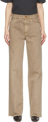 SLVRLAKE Taupe Grace Jeans