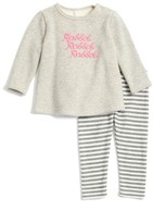 Nordstrom Infant Girl's Fleece Tunic & Leggings Set