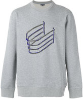 Lanvin Bimbo bead embroidered sweatshirt - men - Cotton/Wool - S