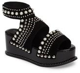 Jeffrey Campbell Women's Palmira Embellished Platform Sandal