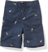 Old Navy Printed Twill Shorts for Toddler Boys