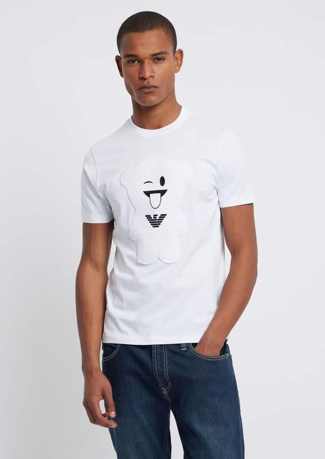 fdd641f55a Pure Cotton Manga Bear T-Shirt