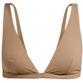 Skin - The Rosie Triangle Bikini Top - Womens - Brown