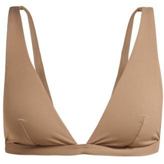 Skin The Rosie Triangle Bikini Top - Brown
