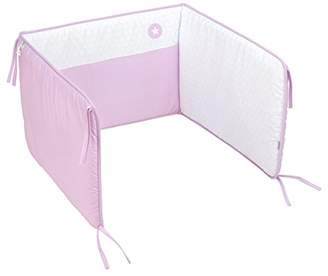 Camilla And Marc Cambrass Cot Bumper, 60 x 40 cm, Pic Pink