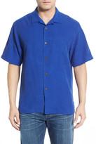 Tommy Bahama Rio Fronds Short Sleeve Silk Sport Shirt (Big & Tall)