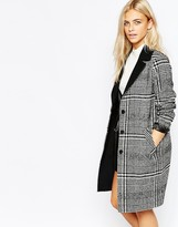 Oasis Check Coat