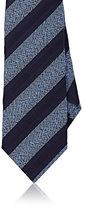 Isaia Men's Circle-Pattern Silk Necktie-LIGHT BLUE