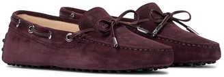 Tod's Heaven suede loafers