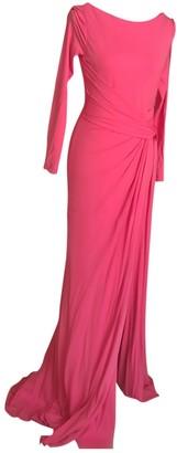 Elie Saab Pink Cotton - elasthane Dresses