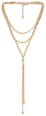 Ettika Gold Lariat Necklace