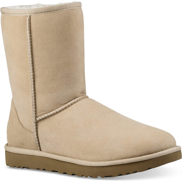 63c4309039b Women Classic Short Ii Genuine Shearling Lined Boots