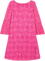 Badgley Mischka Cutout lace mini dress
