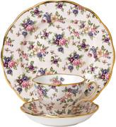 Royal Albert 100 Years Tableware Set - 3 Piece - 1940 English Chintz