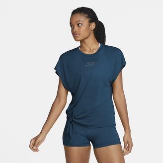 Nike Women's Short-Sleeve Training Top Dri-FIT