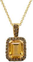 LeVian Le Vian® Chocolatier Citrine (1-1/3 ct. t.w.) and Diamond (1/4 ct. t.w.) in 14k Gold