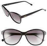 Loewe Women's 'Etna' 57Mm Sunglasses - Black