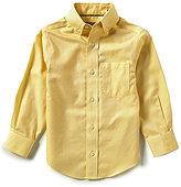 Class Club Gold Label Little Boys 2T-7 Textured Woven Long-Sleeve Dress Shirt