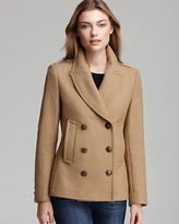 Burberry Topcliffe Double Breasted Wool Coat