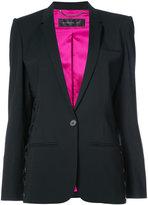 Barbara Bui lace-up detail blazer