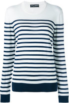 Dolce & Gabbana striped jumper - women - Silk - 40