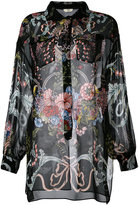 Fendi floral print shirt - women - Silk - 40
