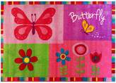 Sunny Rugs Butterfly Border Kids Rug, 100x150cm