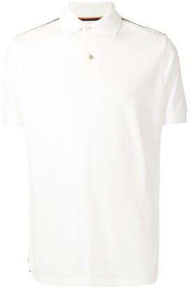 Paul Smith Stripe-Trimmed Polo Shirt