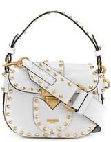 Moschino studded satchel mini bag