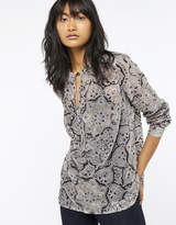 Monsoon Ophelia Devore Blouse