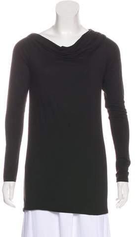 Vince Bateau Neck Long Sleeve Top