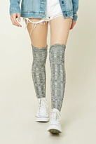 Forever 21 FOREVER 21+ Over-The-Knee Socks