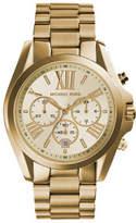 Michael Kors Bradshaw Gold Tone Watch