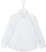Il Gufo palm tree print shirt - kids - Cotton - 4 yrs