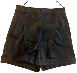 Stella McCartney Stella Mc Cartney Black Cloth Shorts for Women