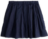 J.Crew Girls' pleated organdy skirt