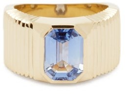 Retrouvaí Sapphire & 14kt Gold Ring - Blue Gold