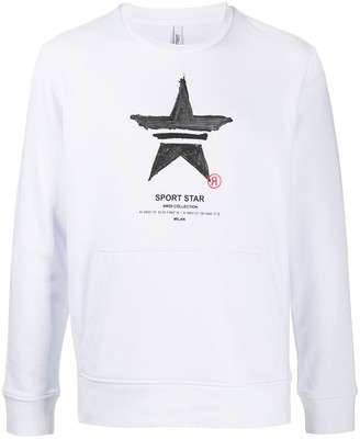 Neil Barrett Graphic-Print Sweatshirt