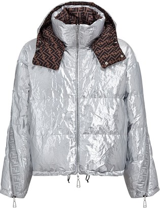 Fendi Prints On reversible down jacket