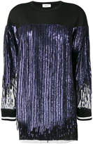 Aviu sequined fringe dress