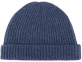 N.Peal ribbed beanie - women - Cashmere - One Size