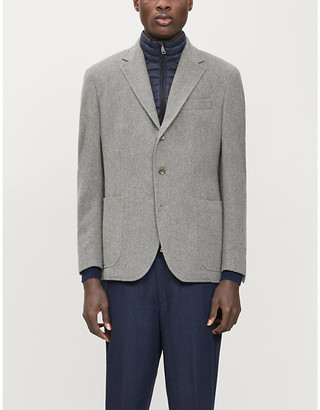 Polo Ralph Lauren Loose-fit wool and cotton-blend blazer