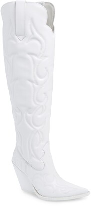 Jeffrey Campbell Amigos Over the Knee Boot