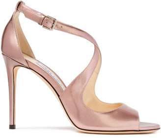 Jimmy Choo Emily 100 Patent-leather Sandals