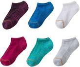 Gold Toe Girls GOLDTOE 6-pk. Space-Dyed Liner Socks